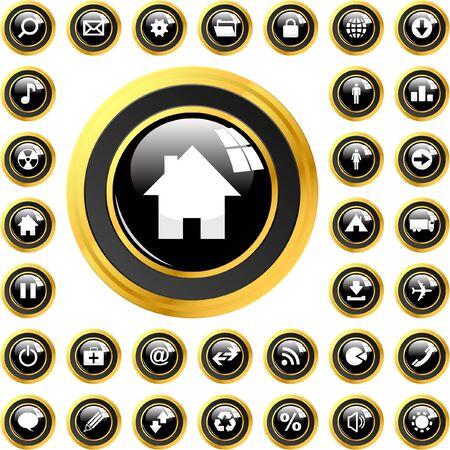 Vector icon set   Vector