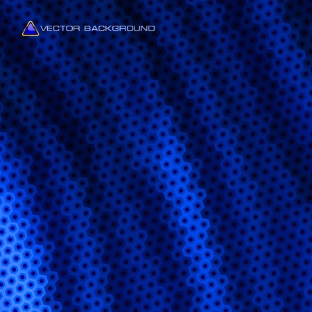 Blue abstract light background.  Vector