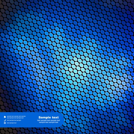 light beams: Blue abstract light background.  Illustration