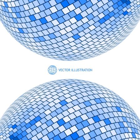 Globe illustration. Vector