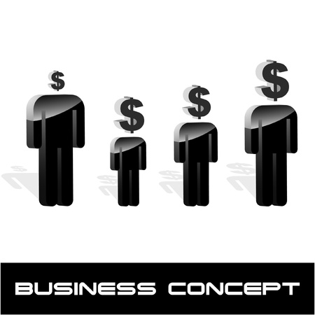 Business concept. Vector illustration. Stock Vector - 9039099