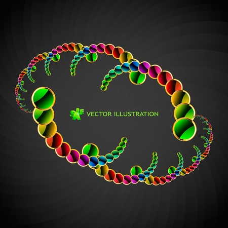 decorate element: Abstract background. Vector illustration.   Illustration