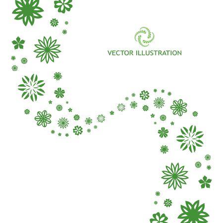 Floral illustration. Vector