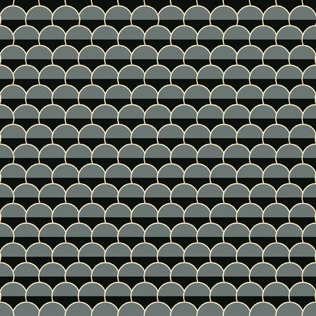 tile roof: Piatto senza soluzione di continuit�. Illustrazione vettoriale.   Vettoriali