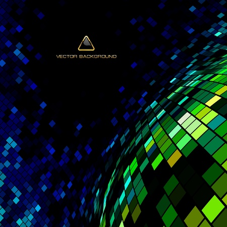 Abstract mosaic background.   Vector