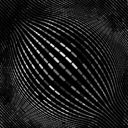 simple geometry: Globe. Vector illustration.