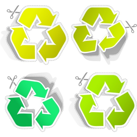 Recycle symbol. Stock Vector - 8947726