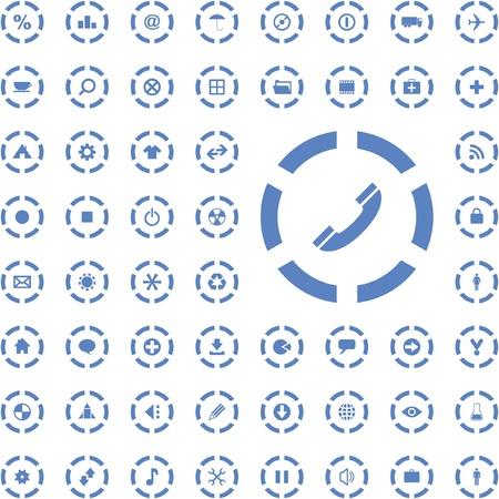 moving site: Icon set.
