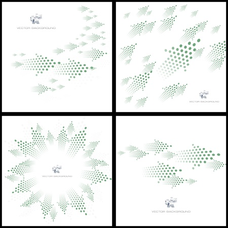 arow: Arrows. Abstract background.   Illustration