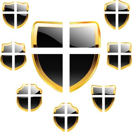 blazonry: Shields Illustration