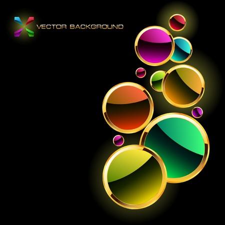 Colorful abstract background. Vektoros illusztráció