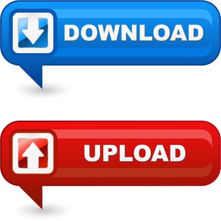 torrent: DOWNLOAD and UPLOAD.