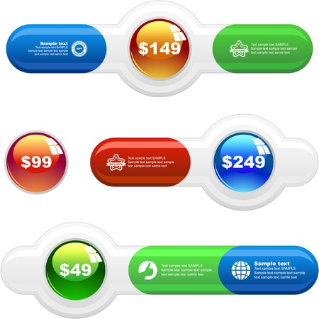 Various sale design elements Stock Vector - 9023978