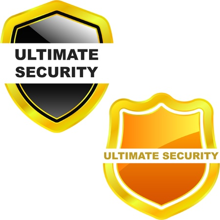 Ultimate secutity. Vector illustration. Vector