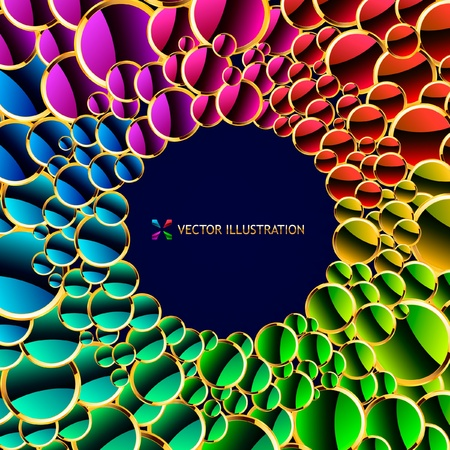 Abstract background. Vector illustration.   Vector
