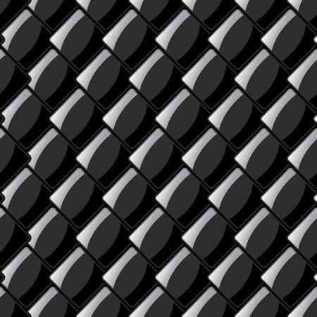 Seamless plate. Vector illustration.