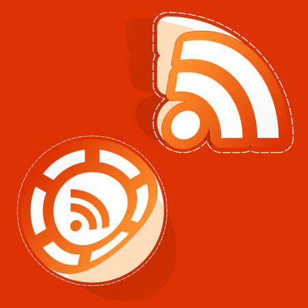 syndicated: RSS.