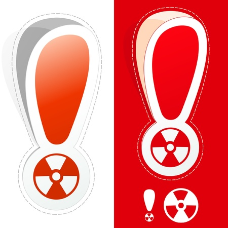 Radiation signs. Stock Vector - 9904470