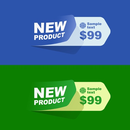 set of sale design elements Stock Vector - 9397466