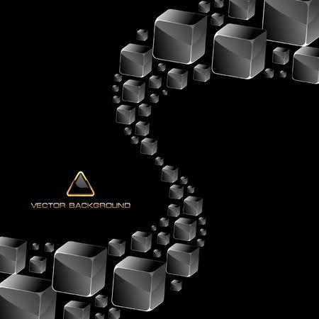 multitude: Fondo de cristales abstracta.