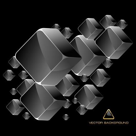 Abstrakcyjna kryształów tła.   Ilustracje wektorowe
