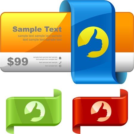 Vector set of sale design elements Stock Vector - 9397303