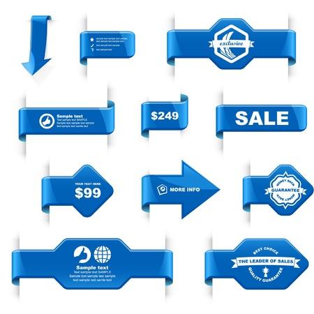 Set of Design Elements zum Verkauf.