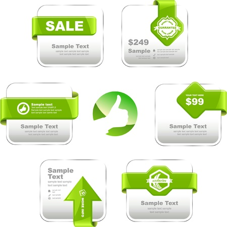 certify: set of sale design elements. Great collection.