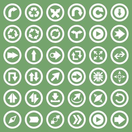 Arrow collection. Vector