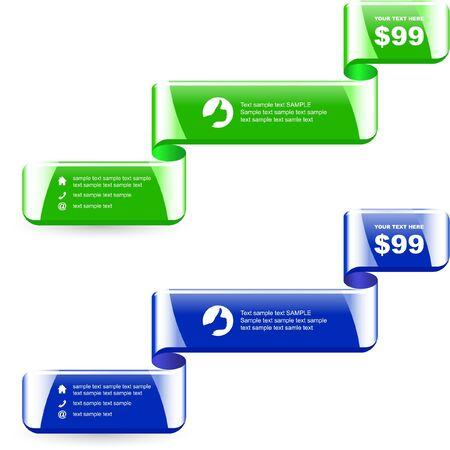 set of sale design elements   Stock Vector - 9400963