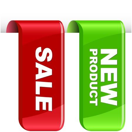 Vector set of sale design elements Stock Vector - 9409065