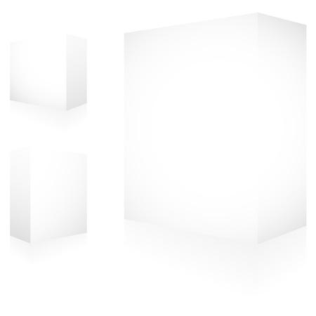 Vector packaging box. Stock Vector - 9904486