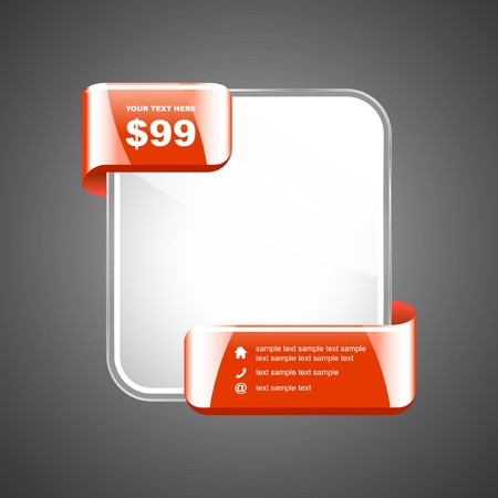 Banner for sale.  Vector