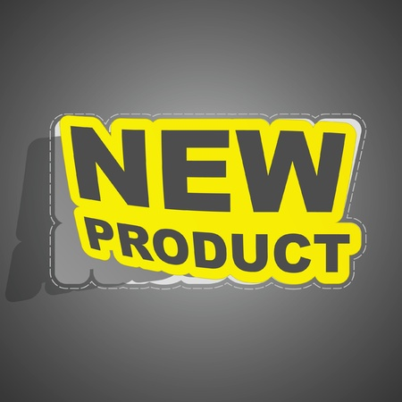 New product. Vector
