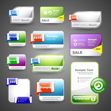Various sale design elements Stock Vector - 9839809