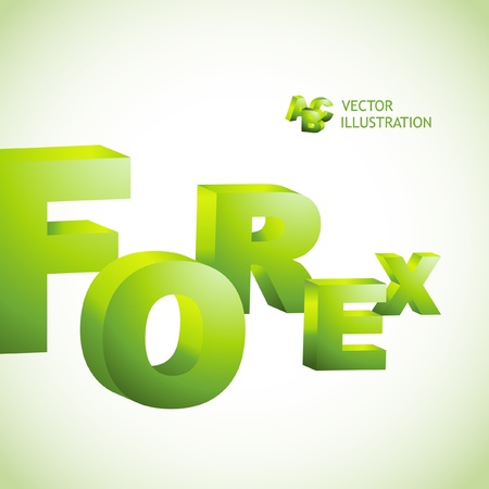 hedging: FOREX. 3d illustration.