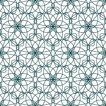 Seamless background with guilloche elements.   Vector