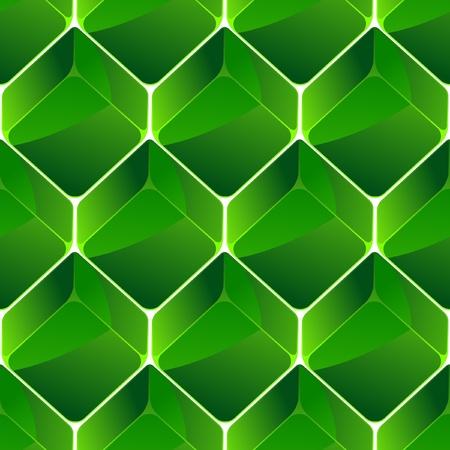 piedras preciosas: Fondo transparente con manzanas verdes.   Vectores