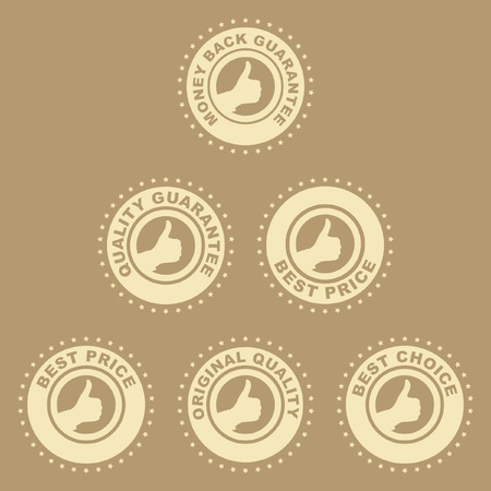 Guarantee label set Vector