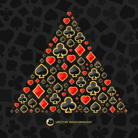Vektor hazard složení. Abstraktní pozadí. Reklamní fotografie - 11885552