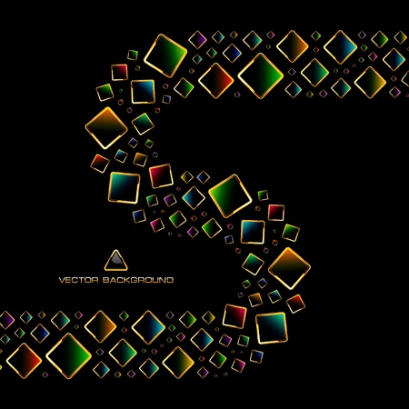 abstract design elements: Colorful abstract background.