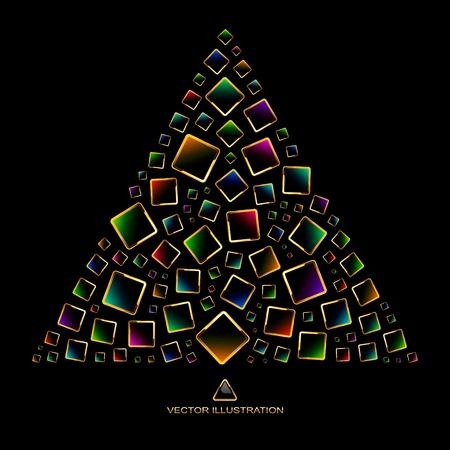 Abstract illustration.   Vector