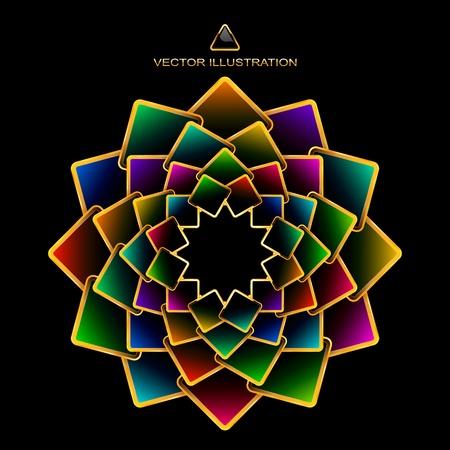 scintillate: Fondo abstracto de colores.