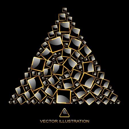 jeweller: Abstract illustration. Illustration