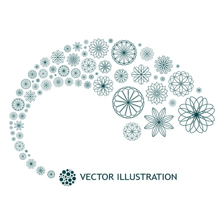 Abstract background. Floral illustration. Stock Vector - 11304295