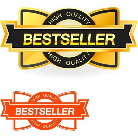 Bestseller emblem    Stock Vector - 15178050