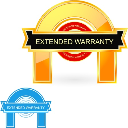 EXTENDED WARRANTY Stock Vector - 11269280