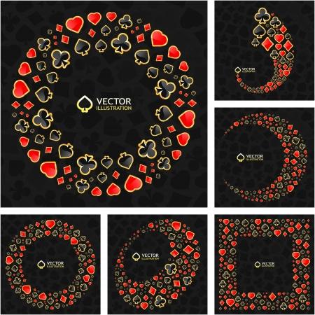 gambling composition Stock Vector - 16512284