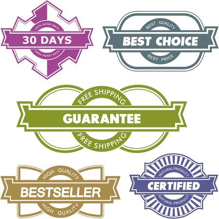 buen servicio: Conjunto de elementos de dise�o de venta