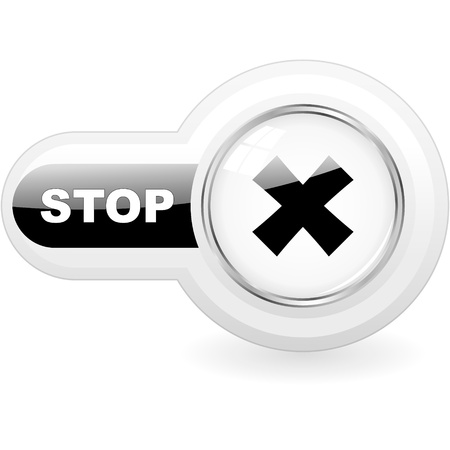 Stop button.